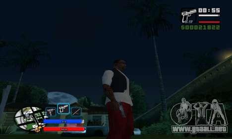 C-HUD by Fawkes para GTA San Andreas tercera pantalla