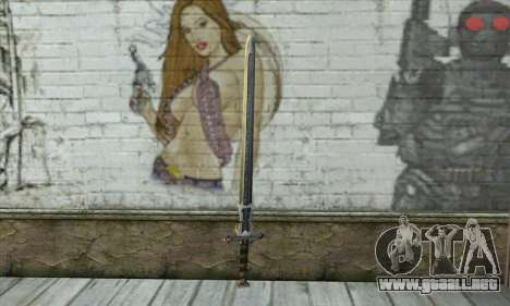 Gothic 2 Sword para GTA San Andreas