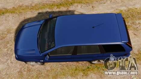 Ubermacht Rebla M5 para GTA 4 visión correcta