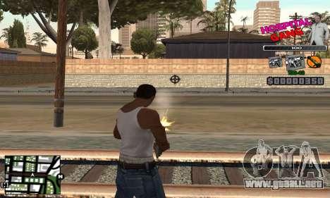 C-HUD Hospital para GTA San Andreas tercera pantalla
