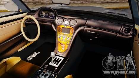 GTA V Benefactor Surano v3.0 para GTA 4 vista hacia atrás
