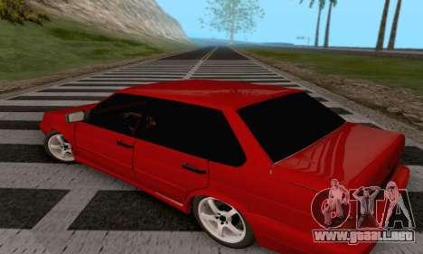VAZ 2115 Diod para GTA San Andreas vista posterior izquierda