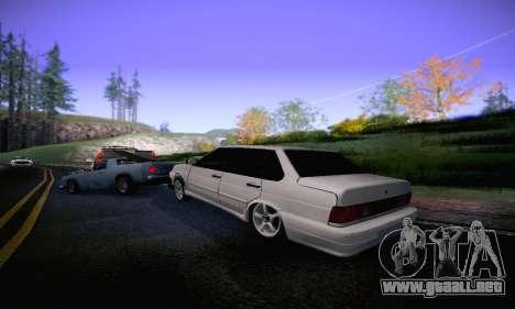 VAZ 2115 Diod para la visión correcta GTA San Andreas