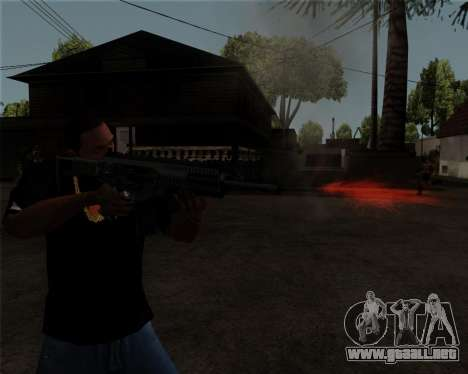 Beretta ARX-160 para GTA San Andreas sucesivamente de pantalla