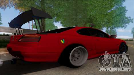 Nissan Silvia S15 V2 para GTA San Andreas left