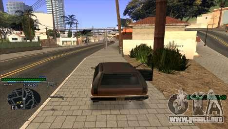 C-HUD Solt para GTA San Andreas