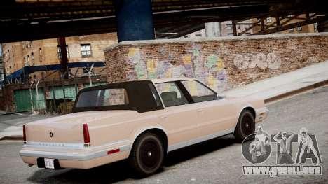 Chrysler New Yorker 1988 para GTA 4 left