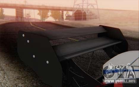 Ford Fiesta Omse HillClimb para la visión correcta GTA San Andreas