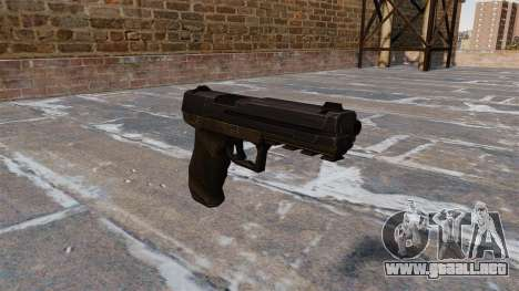 Pistola Crysis 2 v2.0 para GTA 4