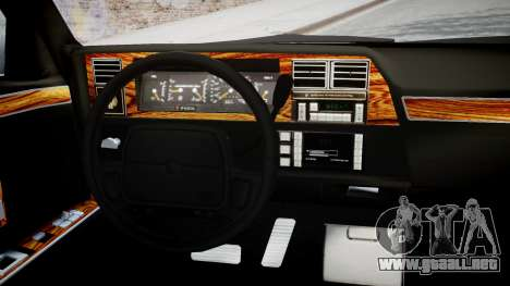 Chrysler New Yorker 1988 para GTA 4 visión correcta