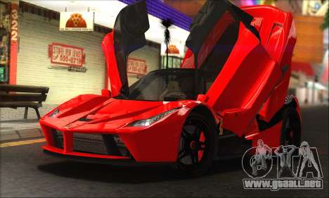 Ferrari LaFerrari v1.0 para GTA San Andreas