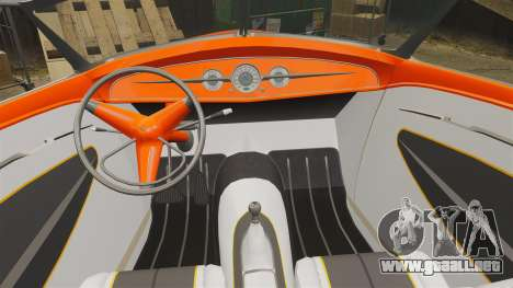 Ford Roadster 1936 Chip Foose 2006 para GTA 4 vista lateral