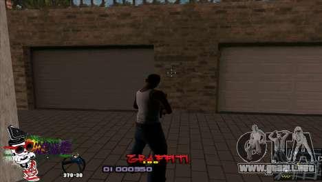 C-HUD Markus para GTA San Andreas segunda pantalla