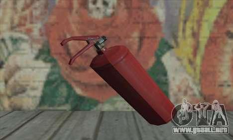 Extintor de L4D para GTA San Andreas segunda pantalla