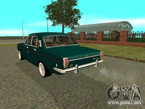 GAS 24-01 Volga para la visión correcta GTA San Andreas