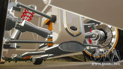 Ford Roadster 1936 Chip Foose 2006 para GTA 4 vista desde abajo