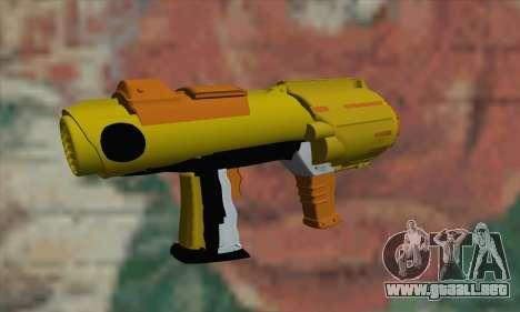 Nerf Gun para GTA San Andreas segunda pantalla