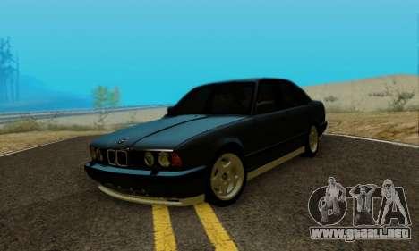 BMW M5 E34 1992 para la visión correcta GTA San Andreas