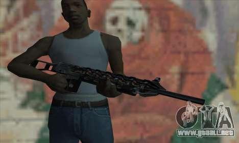 Cañón Gauss de Stalker para GTA San Andreas tercera pantalla