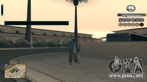 C-HUD v1.0 para GTA San Andreas segunda pantalla