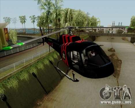 Sparrow BOPE para la visión correcta GTA San Andreas