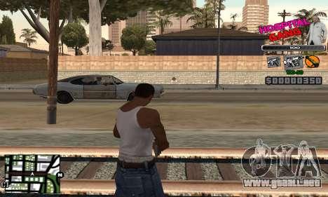 C-HUD Hospital para GTA San Andreas segunda pantalla