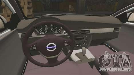 Volvo V70 South Wales Police [ELS] para GTA 4 vista interior