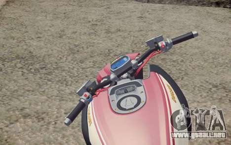 Ducati Diavel Carbon 2011 para la visión correcta GTA San Andreas