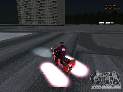 Pak DPS en un formato de invierno para GTA San Andreas séptima pantalla