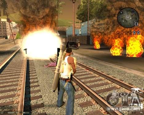 C-HUD CS:GO para GTA San Andreas segunda pantalla