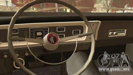 Plymouth Belvedere 2-door Sedan 1965 para la visión correcta GTA San Andreas
