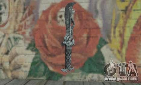 Chinese knife para GTA San Andreas