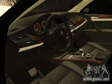 BMW X5 E70 2009 para la visión correcta GTA San Andreas