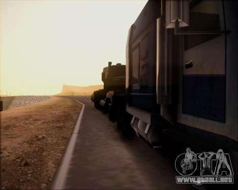 SA Graphics HD v 4.0 para GTA San Andreas segunda pantalla