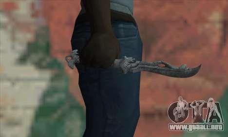 Chinese knife para GTA San Andreas tercera pantalla