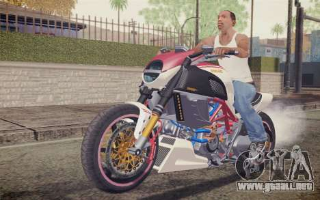 Ducati Diavel Carbon 2011 para GTA San Andreas left