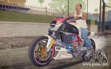 Ducati Diavel Carbon 2011 para GTA San Andreas left
