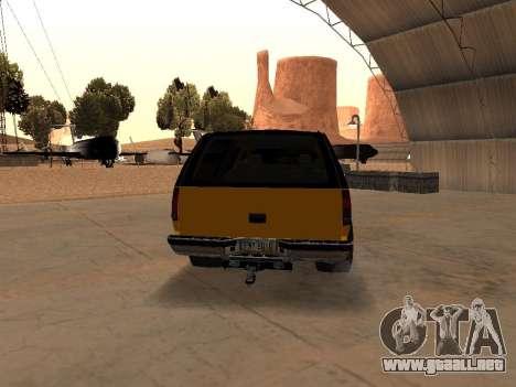 GMC Yukon para la visión correcta GTA San Andreas