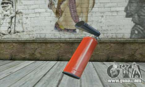 Extintor para GTA San Andreas