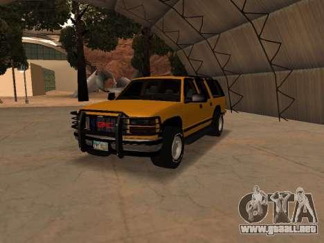 GMC Yukon para GTA San Andreas