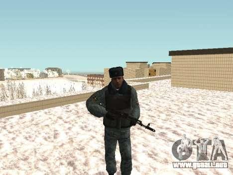 El OMON policías antidisturbios en el uniforme d para GTA San Andreas