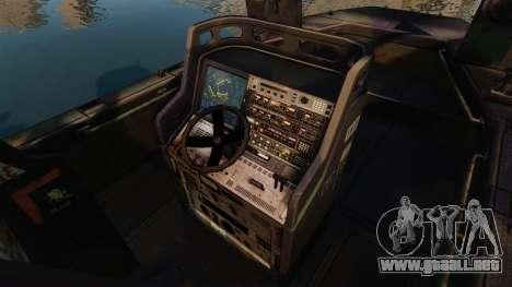 Navy SEALs SOC-R para GTA 4 vista hacia atrás