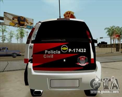 Chevrolet Meriva para la visión correcta GTA San Andreas