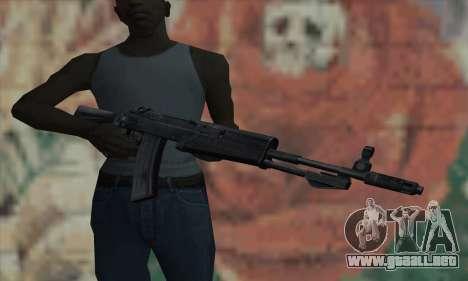 El AK-47 de S.T.A.L.K.E.R. para GTA San Andreas tercera pantalla