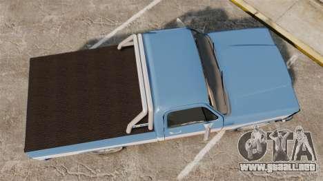 Chevrolet D-20 Custom para GTA 4 visión correcta