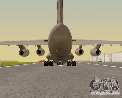 Il-76md-90 (IL-476) para vista lateral GTA San Andreas
