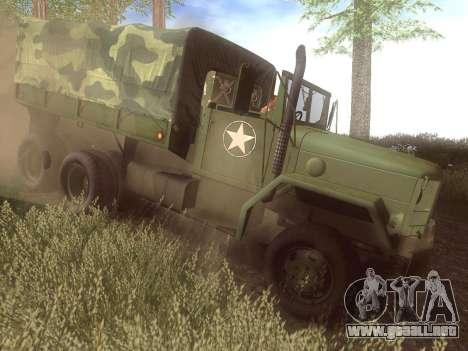 M35A2 para la visión correcta GTA San Andreas