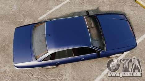 Civil Cruiser para GTA 4 visión correcta