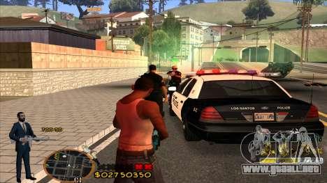 C-HUD La Cosa Nostra para GTA San Andreas tercera pantalla