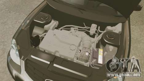FBI Vaz-2170 para GTA 4 vista interior